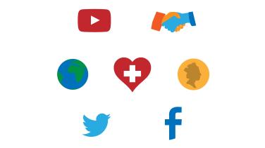 Effective Community Engagement Icons