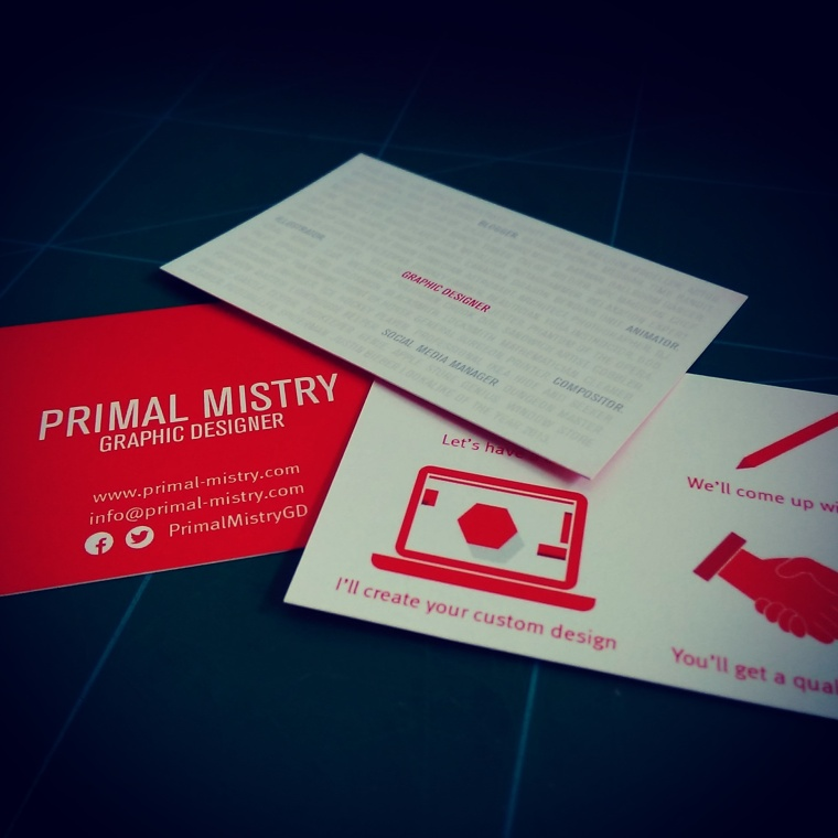 2016 Business Card