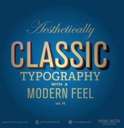 Classic Typographjy