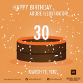 Happy Birthday Illustrator