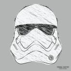 Sketched Stromtrooper