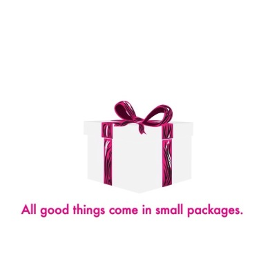 All Good Things come in Small Packages