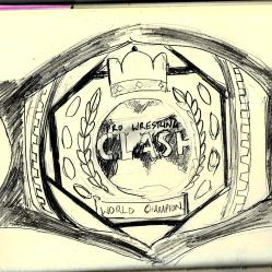Centre Plate Sketch