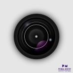 Skeuomorphic Camera Lens