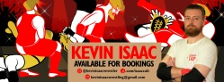 Kevin Isaac - Available for Bookings
